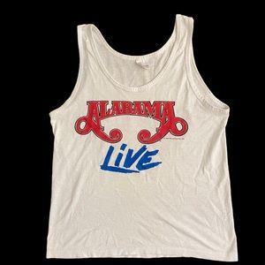 Authentic Alabama 1988 concert sleeveless